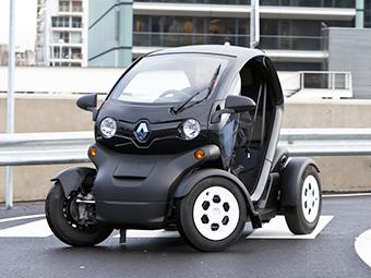 Renault добавила Twizy грузовую платформу