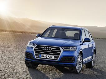 Компания Audi рассекретила Q7 второго поколения