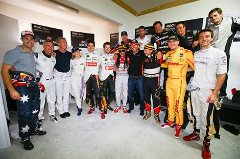 Скандинавы стали лучшими в командном зачете Race of Champions. Фото 1