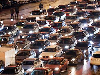 Четверг назвали самым пробочным днем в Москве