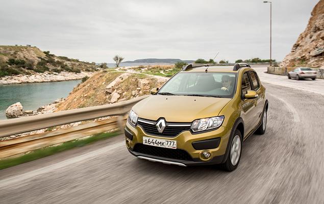 Тест нового Renault Sandero Stepway. Фото 1
