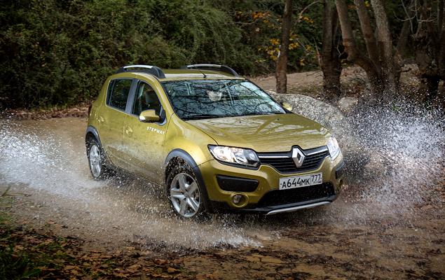 Тест нового Renault Sandero Stepway. Фото 4