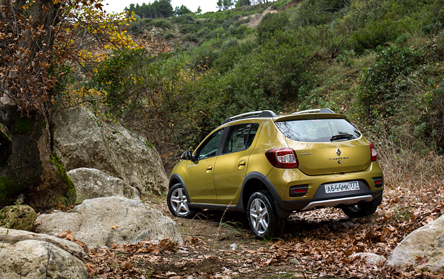 Тест нового Renault Sandero Stepway. Фото 5