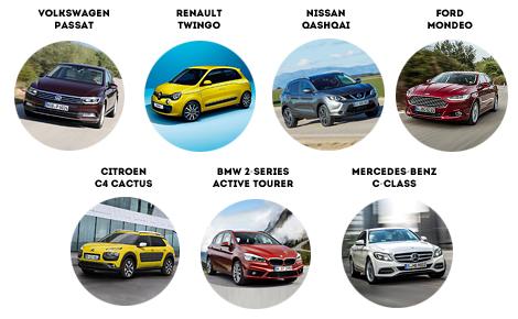 """В список конкурса """"Автомобиль года"""" попали семь моделей"""