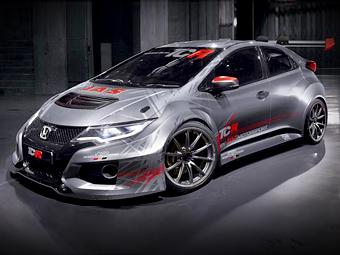 Представлен новый гоночный хэтчбек Honda Civic
