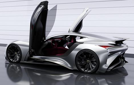 Представлен виртуальный концепт-кар для гоночного симулятора