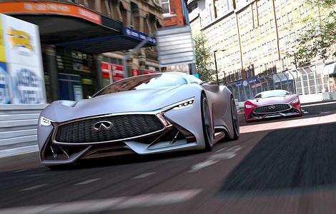 Представлен виртуальный концепт-кар для гоночного симулятора. Фото 1