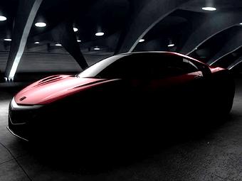 «Хонда» приоткрыла внешность серийного суперкара NSX