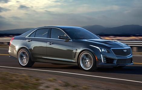 Новый Cadillac CTS-V получил 640-сильный двигатель от «Корвета»