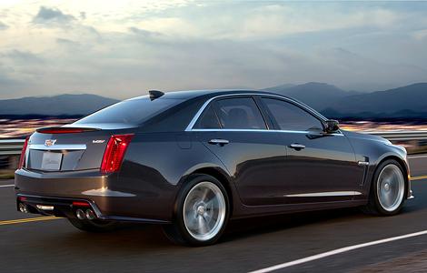 Новый Cadillac CTS-V получил 640-сильный двигатель от «Корвета». Фото 2
