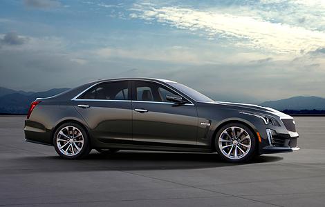 Новый Cadillac CTS-V получил 640-сильный двигатель от «Корвета». Фото 3