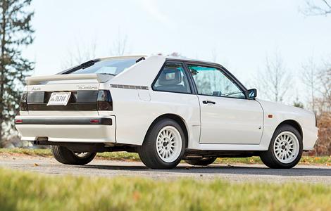 Раллийное купе Sport quattro выставили на аукцион. Фото 2