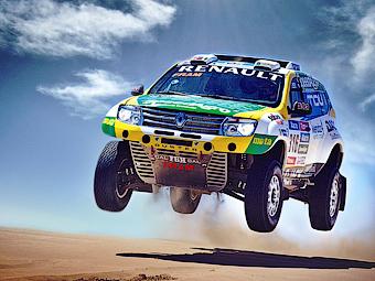 Компания Renault оснастила «Дастер» мотором V8