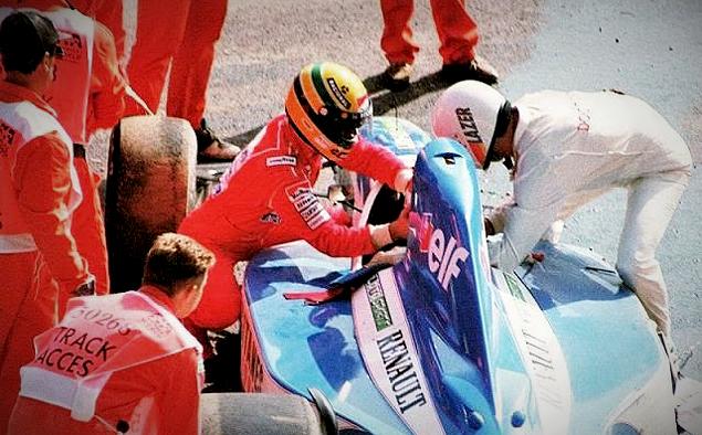 Курение, драки, кувалды и другие атрибуты Формулы-1 прошлого. Фото 25