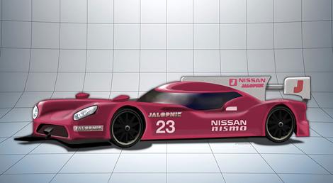 Машина Nissan для класса LMP1 получит переднемоторную компоновку
