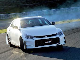 Японские гонщики сделали спортивную «Тойоту» Mark X