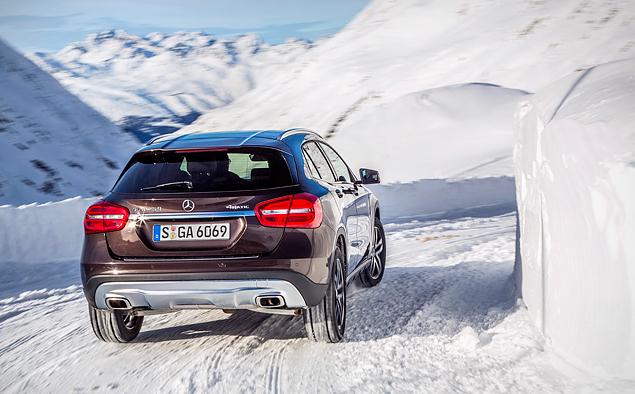 Ищем разницу в работе полноприводных трансмиссий Mercedes-Benz 4Matic