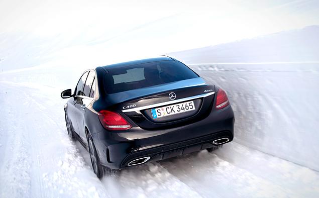 Ищем разницу в работе полноприводных трансмиссий Mercedes-Benz 4Matic. Фото 4