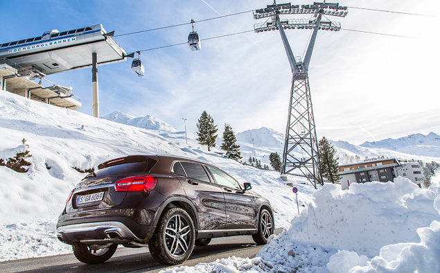 Ищем разницу в работе полноприводных трансмиссий Mercedes-Benz 4Matic. Фото 5