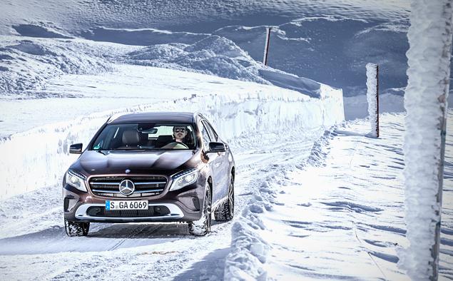 Ищем разницу в работе полноприводных трансмиссий Mercedes-Benz 4Matic. Фото 6