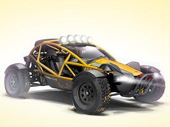 Производитель трековых спорткаров Ariel разработал внедорожник