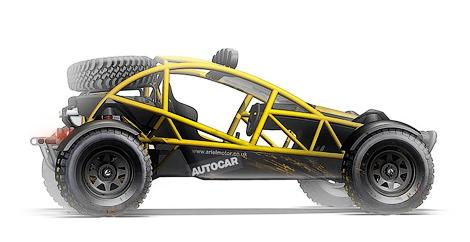 В январе дебютирует 200-сильный вседорожный автомобиль Ariel Nomad