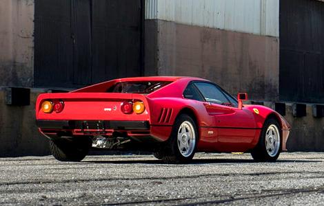 С молотка уйдет суперкар Ferrari 288 GTO 1984 года выпуска