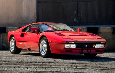 С молотка уйдет суперкар Ferrari 288 GTO 1984 года выпуска. Фото 2