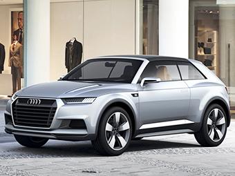 СМИ узнали подробности о маленьком кроссовере Audi