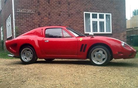 Копию спорткара Ferrari 250 GTO оценили в 19 тысяч долларов