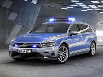 «Фольксваген» сделал гибридный «Пассат» для полиции