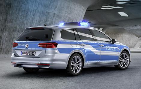 Машина потребуется полицейским в экологических зонах