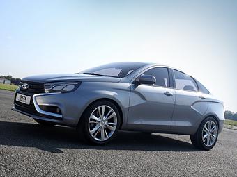 «АвтоВАЗ» отправил в Европу первую Lada Vesta