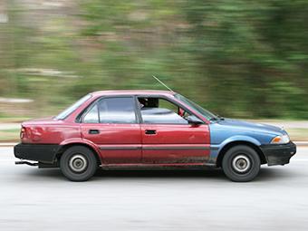 Старые машины признали небезопасными для тинейджеров