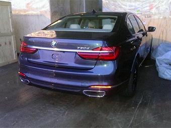 """Новую """"семерку"""" BMW сфотографировали без камуфляжа"""