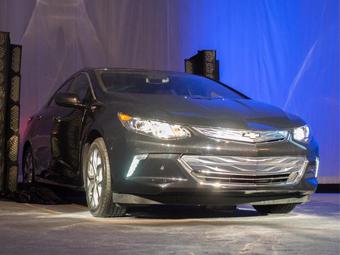 Новый Chevrolet Volt раскрыли на выставке электроники