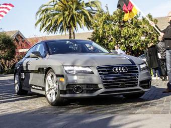Audi A7 с автопилотом проедет 900 километров