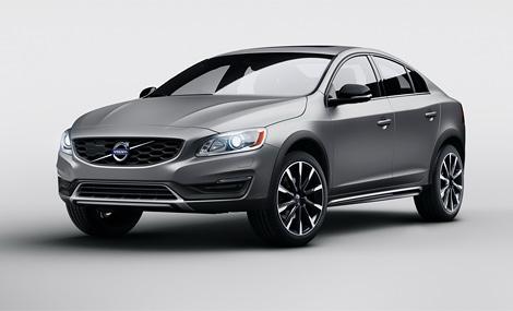 Компания Volvo представила седан S60 с увеличенным дорожным просветом. Фото 1