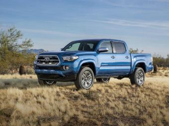 """Toyota назвала """"зверем"""" обновленный пикап Tacoma"""