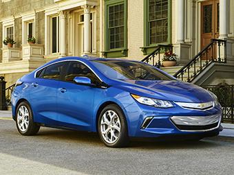 У Chevrolet Volt в полтора раза вырос запас хода на электротяге