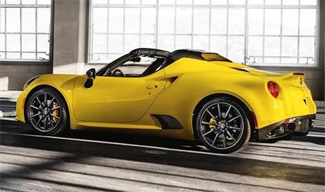 Alfa Romeo сделала прототип 4C Spider серийным