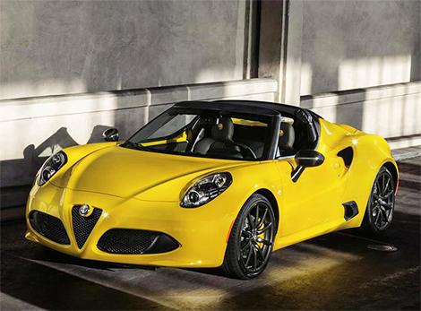 Alfa Romeo сделала прототип 4C Spider серийным. Фото 1