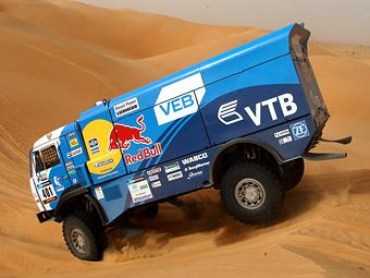 """Газовые """"КАМАЗы"""" сделали дубль на Africa Eco Race"""