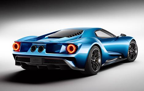 Серийный Ford GT будет на 95 процентов похож на прототип. Фото 1