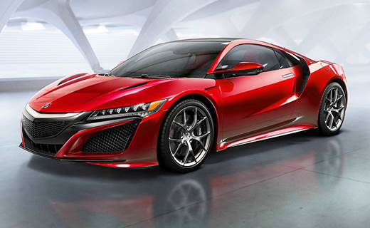 Суперкар Acura NSX стал серийным