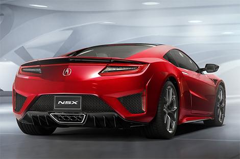 Acura NSX оснастили силовой установкой с тремя электромоторами. Фото 1