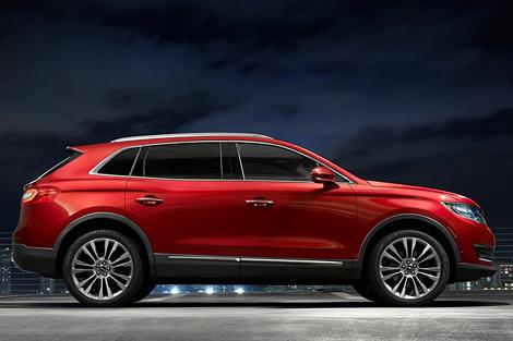 В США представили вседорожник Lincoln MKX нового поколения. Фото 1
