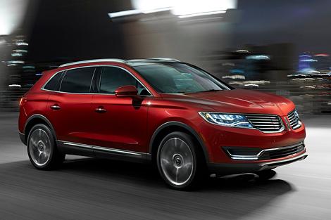 В США представили вседорожник Lincoln MKX нового поколения. Фото 2