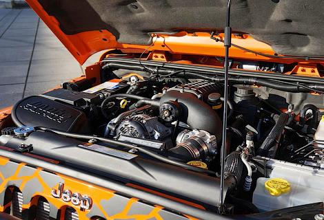 Ателье Geiger Cars подготовило доработки для американского внедорожника