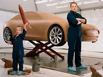 Ребенок главы Tesla назвал Model S дурацкой машиной